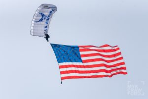 Air Force Academy Wings of Blue parachute team