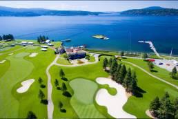 Coeur d'Alene Resort Golf Course - Coeur d'Alene, ID